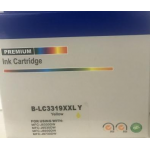 Brother LC 3319XXLY Compatible Yellow Ink Cartridge 1,500 Page Yield