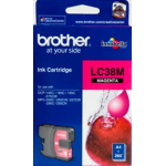 Brother LC 38M Original Magenta Ink 260 Pages