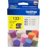 Brother LC 133Y Original Ink Cartridge