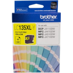 Brother LC 135XLY Original Yellow Ink 1,200 Page Yield