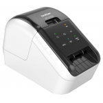 Brother QL-810W High Speed Professional Label Printer  (Labeller) PC/MAC - Black & Red