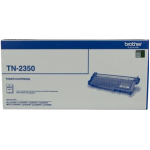 Brother TN-2350 Original High Yield Black Toner Cartridge 2600 Pages