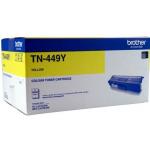 Brother TN-449Y Original Yellow Toner Cartridge