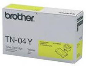 Brother TN 04Y Original Yellow