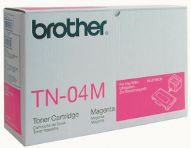 Brother TN 04M Original Magenta