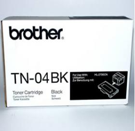 Brother TN 04BK Original Black