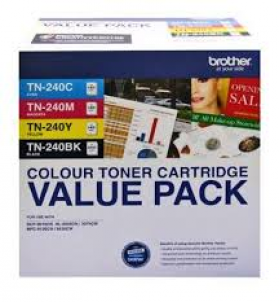 Brother TN 240CL 4 Pack Toner