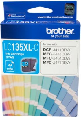 Brother LC 135XLC Original Cyan Ink