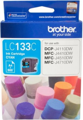 Brother LC 133C Original Ink Cartridge