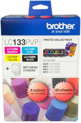 Brother LC 133PVP Original Ink